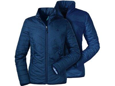 SCHÖFFEL Damen Wende-Steppjacke Vent Jacket Alyeska1 Blau