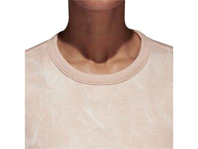 """ADIDAS Damen Wende-Sweatshirt """"Id Reversible"""" Orange"""