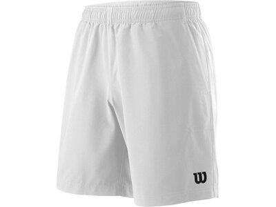"""WILSON Herren Tennisshorts """"Team 8"""" Weiß"""