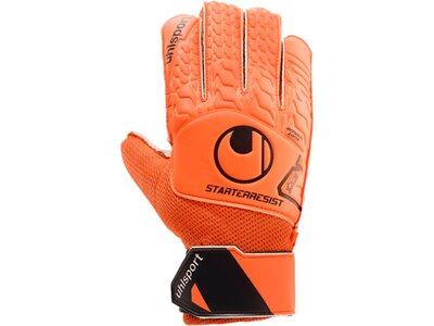 UHLSPORT Equipment - Torwarthandschuhe Starter Resist Torwarthandschuh Orange
