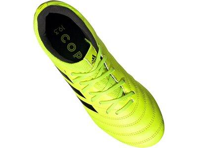 ADIDAS Fußball - Schuhe Kinder - Nocken COPA Virtuso 19.3 FG J Kids Grün