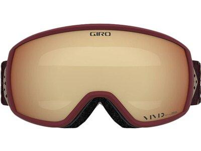 "GIRO Damen Skibrille / Snowboardbrille ""Facet"" Lila"