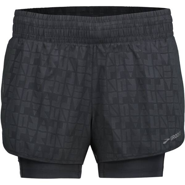 BROOKS Damen Laufshorts Circuit 3 2in1 Short W