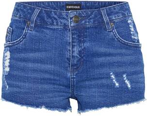 CHIEMSEE Jeansshorts in verwaschener Optik