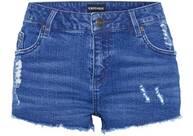 Vorschau: CHIEMSEE Jeansshorts in verwaschener Optik
