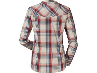 SCHÖFFEL Damen Bluse Andermatt 3 Langarm Rot