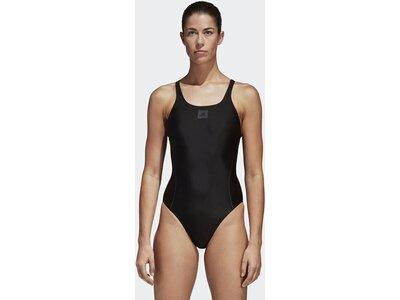 ADIDAS Damen adidas Essence Core Solid Badeanzug Schwarz