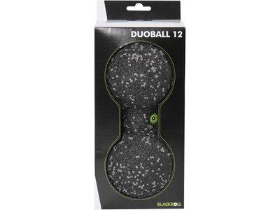 BLACKROLL Massageball Duoball 12 Schwarz