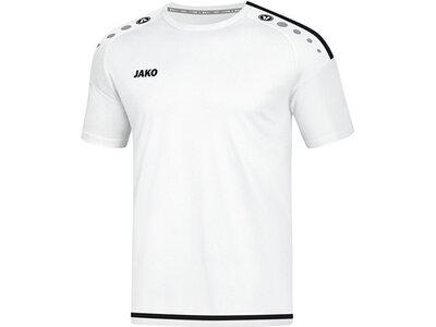 JAKO Herren Trikot Striker 2.0 KA Weiß