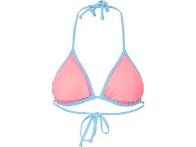 CHIEMSEE Bikini Top unifarben Blau