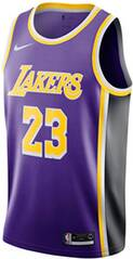 "NIKE Herren Basketballtrikot ""LeBron James Statement Edition Swingman Jersey (Los Angeles Lakers)"""