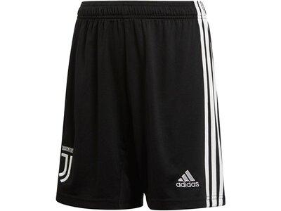 """ADIDAS Jungen Fußball-Shorts """"Juventus Turin Home"""" Schwarz"""