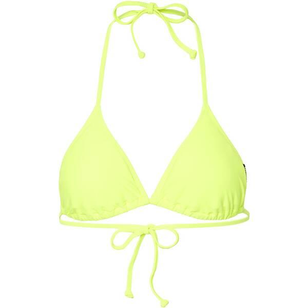 Bademode - CHIEMSEE Bikini Top unifarben › Gelb  - Onlineshop Intersport
