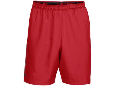 "UNDERARMOUR Herren Trainingsshorts ""Woven Graphic Wordmark"" Rot"