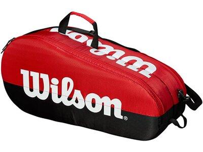 """WILSON Tennistasche """"Team 2 Compartment"""" Schwarz"""
