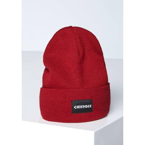 CHIEMSEE Mütze mit Logo Patch