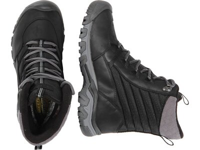 "KEEN Damen Winterboots ""Hoodoo III Lace Up"" Grau"