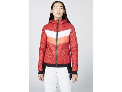 CHIEMSEE Jacke aus leichtem, wärmenden PrimaLoft® Material Rot