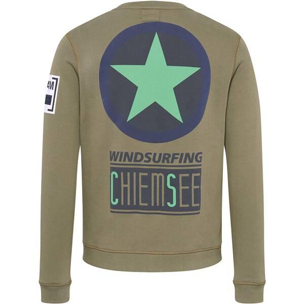 CHIEMSEE Unisex Sweatshirt mit großem CHIEMSEE Logo
