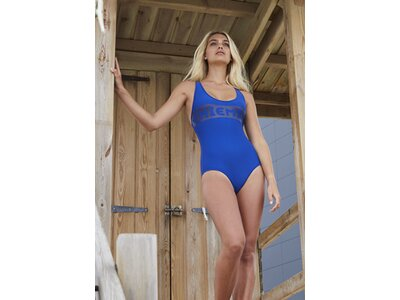 CHIEMSEE Badeanzug mit Racerback Blau