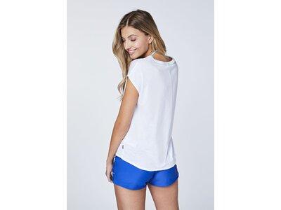 """CHIEMSEE T-Shirt mit """"Sugar"""" Frontprint Weiß"""