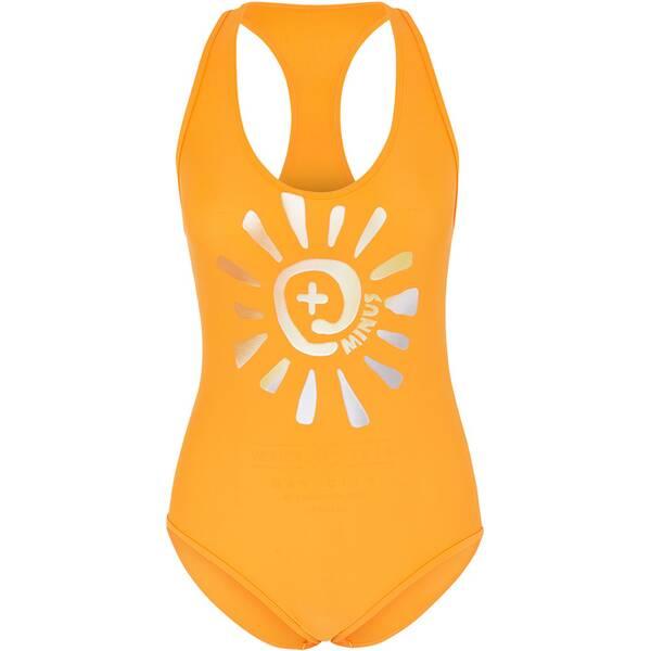 Bademode - CHIEMSEE Badeanzug in cooler Neon Farbe › Orange  - Onlineshop Intersport
