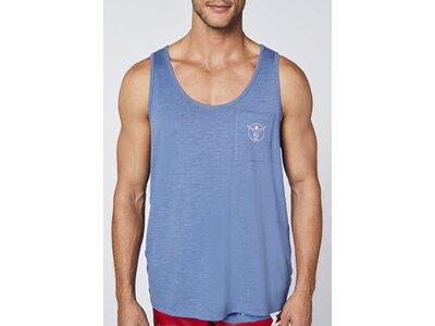 CHIEMSEE Tank mit Brusttasche Blau