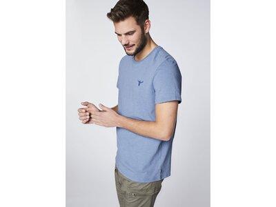 CHIEMSEE T-Shirt mit großem Rückenprint Blau