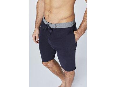 CHIEMSEE Shorts mit seitlichen Eingrifftaschen Schwarz