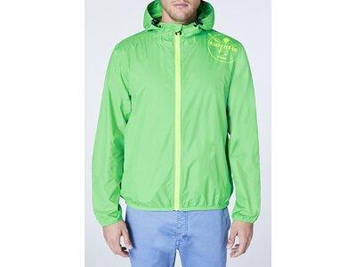CHIEMSEE Regenjacke mit Rückenschlitz Grün