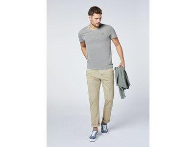 CHIEMSEE T-Shirt aus GOTS-zertifizierter Bio-Baumwolle Grau