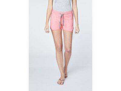CHIEMSEE Shorts mit Ethno Details Pink