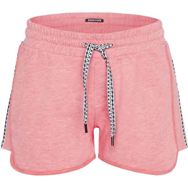Hosen - CHIEMSEE Shorts mit Ethno Details › Pink  - Onlineshop Intersport