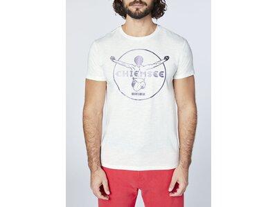 CHIEMSEE T-Shirt mit changierendem CHIEMSEE Printrint - GOTS zertifiziert Pink