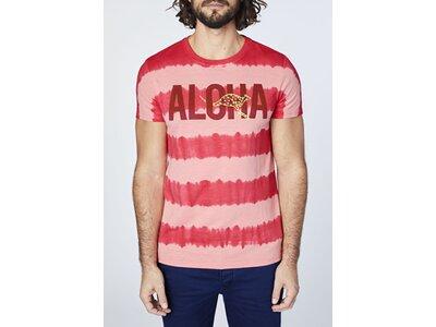 "CHIEMSEE T-Shirt mit ""ALOHA"" Print Pink"