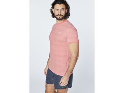 CHIEMSEE T-Shirt mit coolem Rückenprint Braun