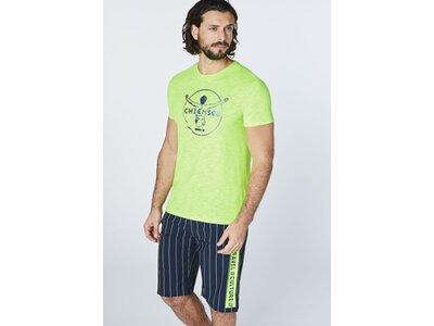 CHIEMSEE T-Shirt mit CHIEMSEE Rückenprint Grün