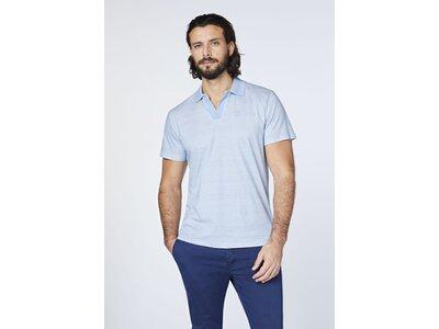 CHIEMSEE Poloshirt aus GOTS Baumwolle Blau