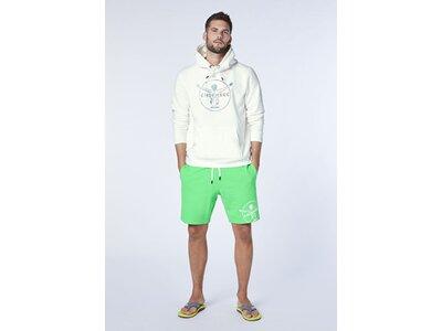 CHIEMSEE Sweatshirt mit Kapuze Weiß