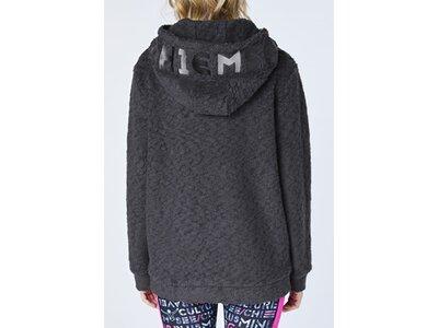 CHIEMSEE Sweatshirt mit großem gestickten CHIEMSEE Logo Grau