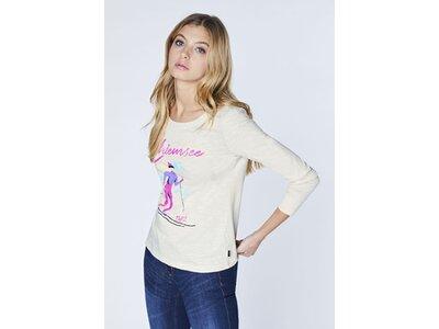 CHIEMSEE T-Shirt aus reiner Bio-Baumwolle - GOTS-Zertifiziert Grau