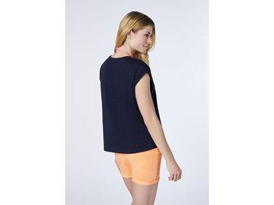 CHIEMSEE T-Shirt mit mehrfarbigem Frontprint Braun