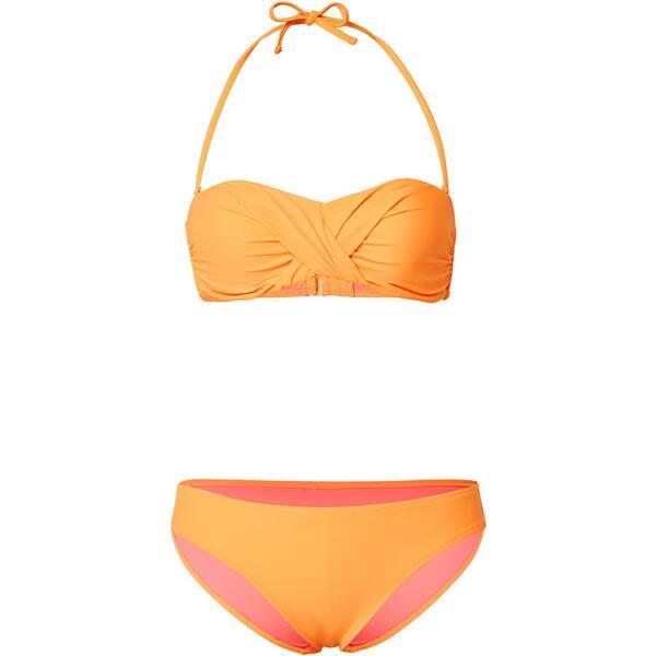Bademode - CHIEMSEE Bikini mit Kontrastfutter › Orange  - Onlineshop Intersport