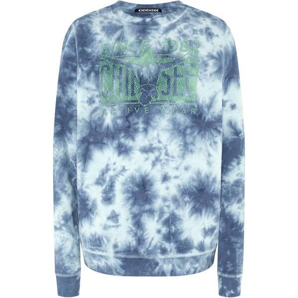 CHIEMSEE Sweatshirt in Batik-Optik