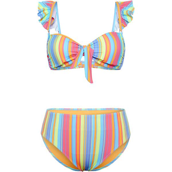 Bademode - CHIEMSEE Bikini mit Rüschen und Schleifendetails › Silber  - Onlineshop Intersport