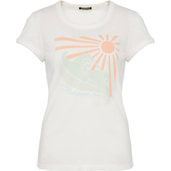 CHIEMSEE T-Shirt mit farblich abgesetzten Bündchen