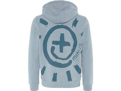 CHIEMSEE Sweatshirt mit PlusMinus Rücken- und Frontprint Grau