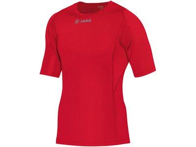 JAKO Herren T-Shirt Compression Rot