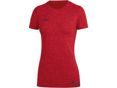 JAKO Damen T-Shirt Premium Basics Rot