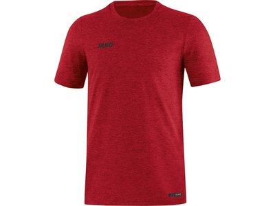 JAKO Herren T-Shirt Premium Basics Rot